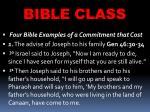 bible class17