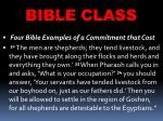 bible class18