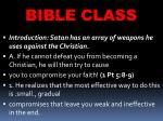 bible class2