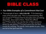 bible class22