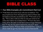 bible class23