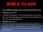 bible class25