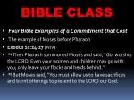 bible class27