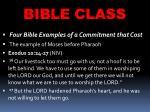 bible class28
