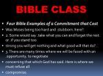 bible class29