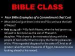bible class30