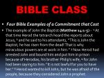 bible class31