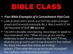 bible class32