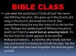 bible class35