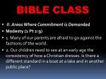 bible class39