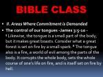bible class41