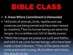 bible class42