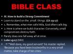 bible class48