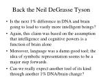 back the neil degrasse tyson