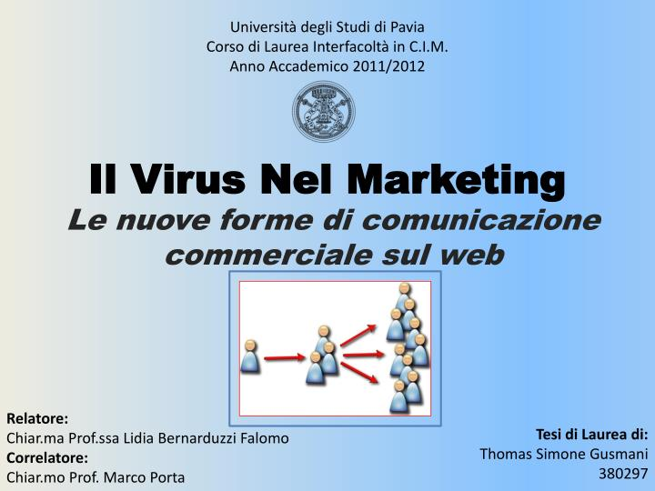 il virus nel marketing n.