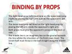 binding by props