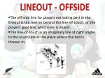 lineout offside