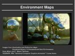 environment maps
