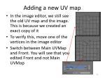 adding a new uv map1