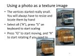 using a photo as a texture image2