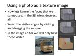 using a photo as a texture image3