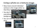 using a photo as a texture image4