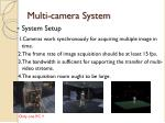 multi camera system