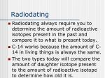 radiodating
