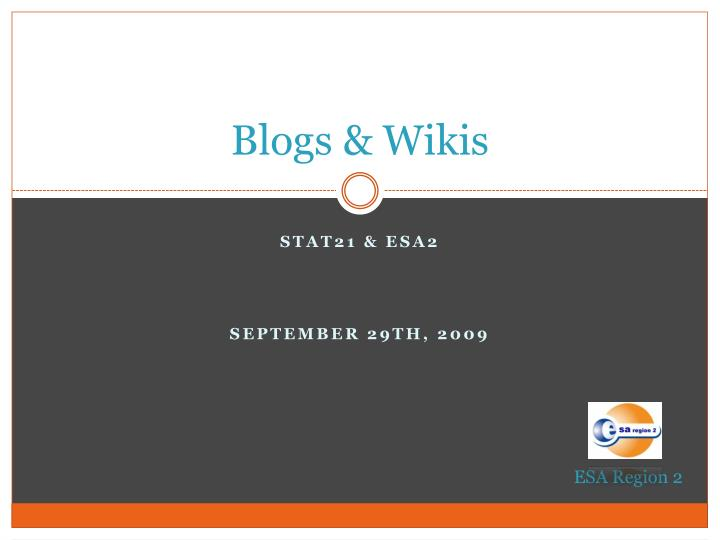blogs wikis n.
