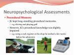 neuropsychological assessments5