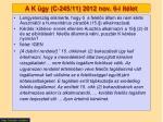a k gy c 245 11 2012 nov 6 i t let1