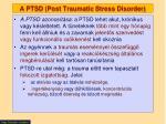 a ptsd post traumatic stress disorder2