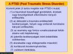 a ptsd post traumatic stress disorder3