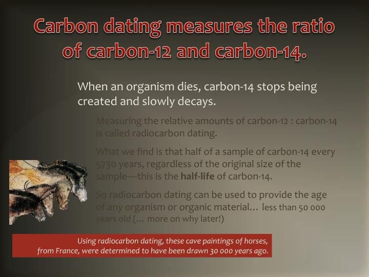 carbon 12 and carbon 14 carbon dating