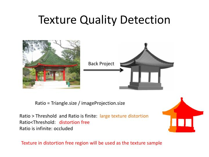 Texture Quality Detection