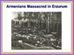 armenians massacred in erzurum