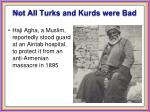 not all turks and kurds were bad