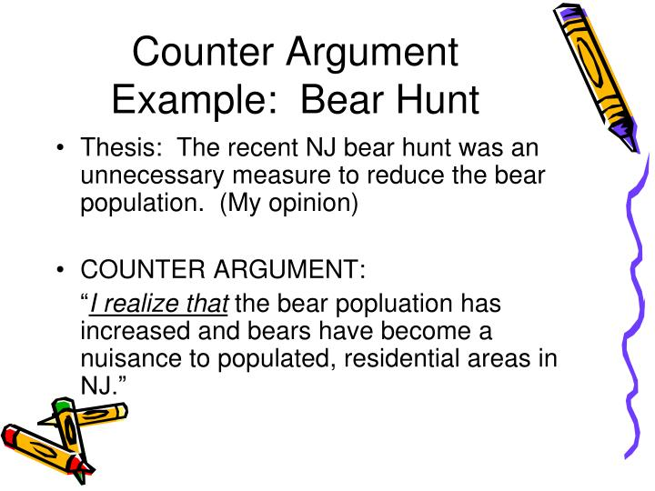Ppt  Counter Argument Powerpoint Presentation  Id