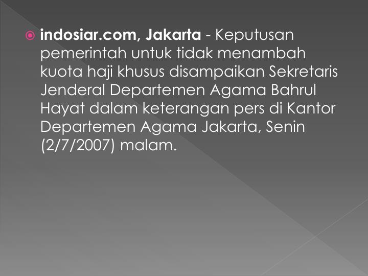 Indosiar.com, Jakarta