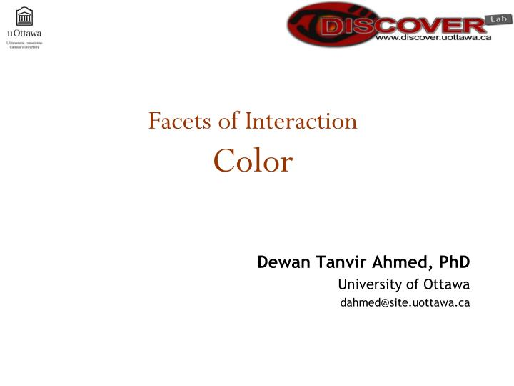 facets of interaction color n.