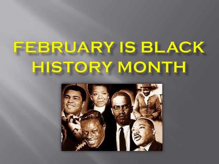 february is black history month n.