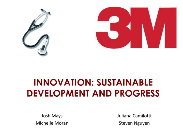 innovation sustainable development and progress n.