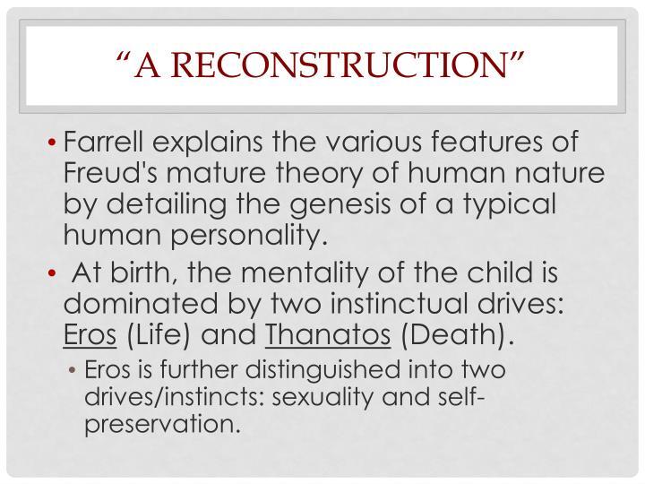"""A Reconstruction"""