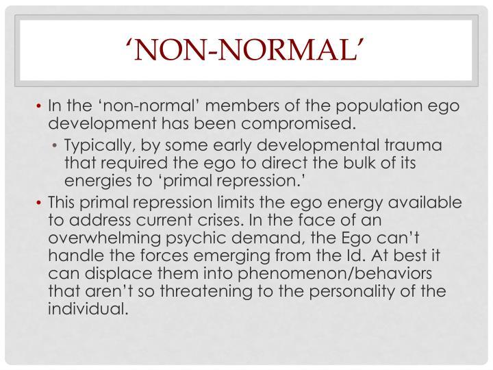 'Non-Normal'