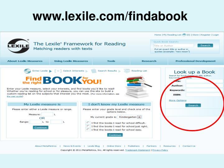 www.lexile.com