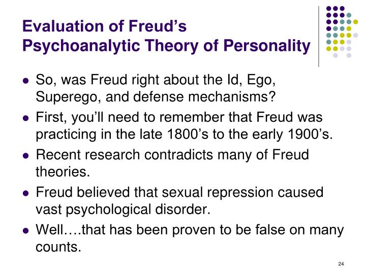 Evaluation of Freud's