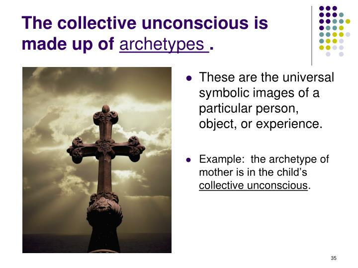 The collective unconscious is made up of