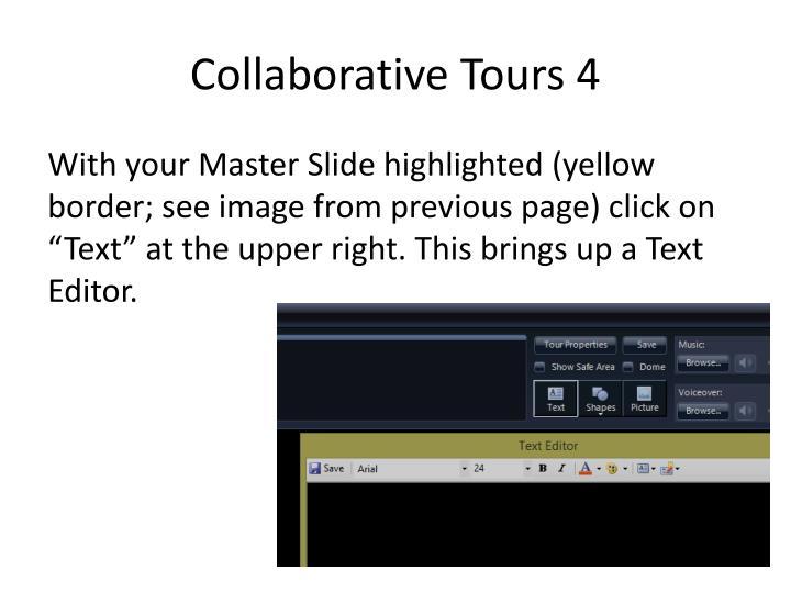 Collaborative Tours 4