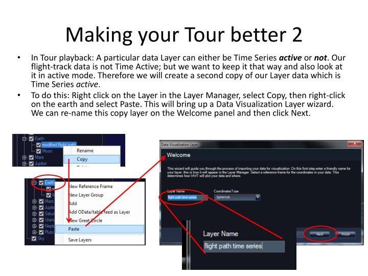 Making your Tour better 2
