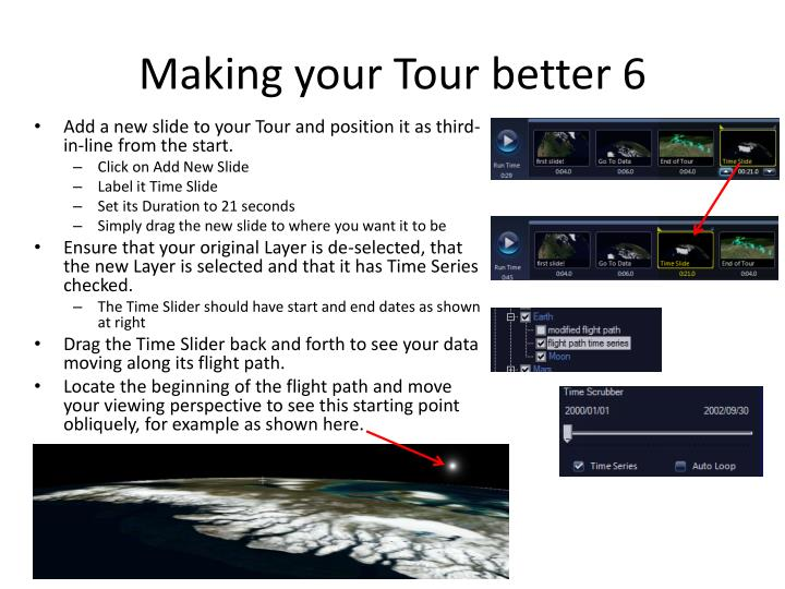 Making your Tour better 6